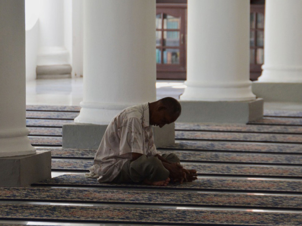 In the Mosque