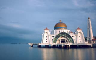 Mosque on Water