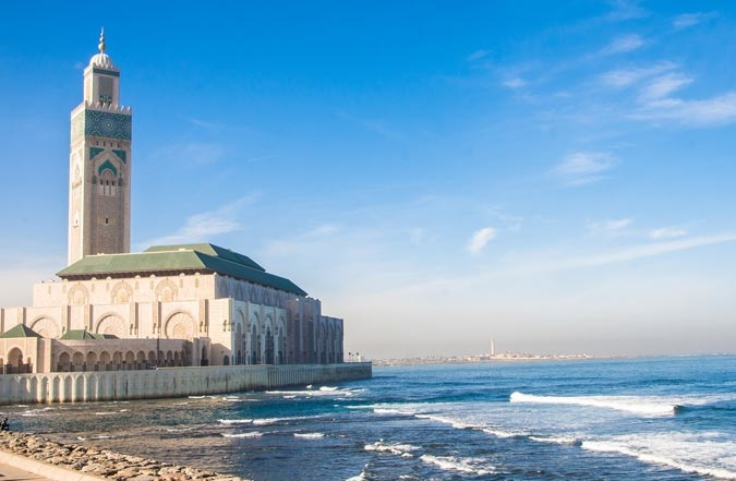 Mosque on the Beach