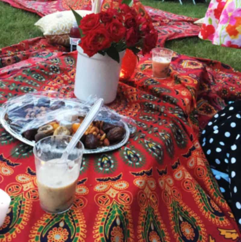 Outdoor Iftar