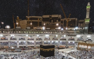 Prayer at Makkah