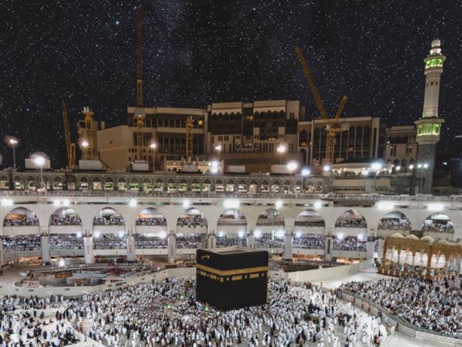 Prayer at Makkah