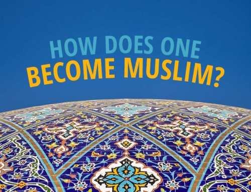 How Does One Become Muslim?