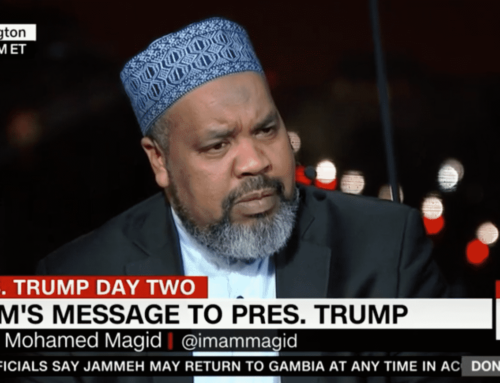 News: Imam Mohamed Magid's Fight Against Anti-Semitism Continues in 2020