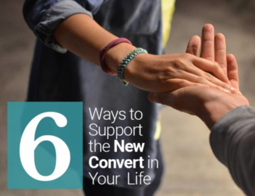 Six Ways to Support the New Convert in Your Life
