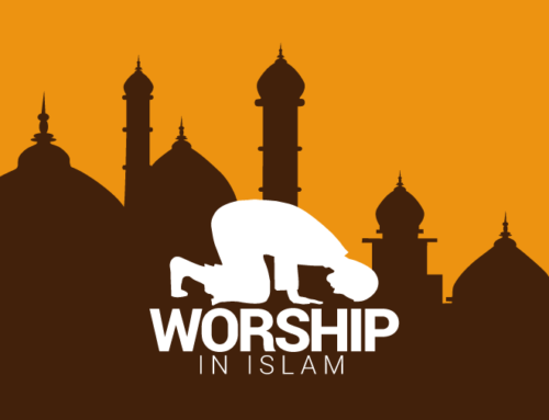 Worship in Islam Infographic