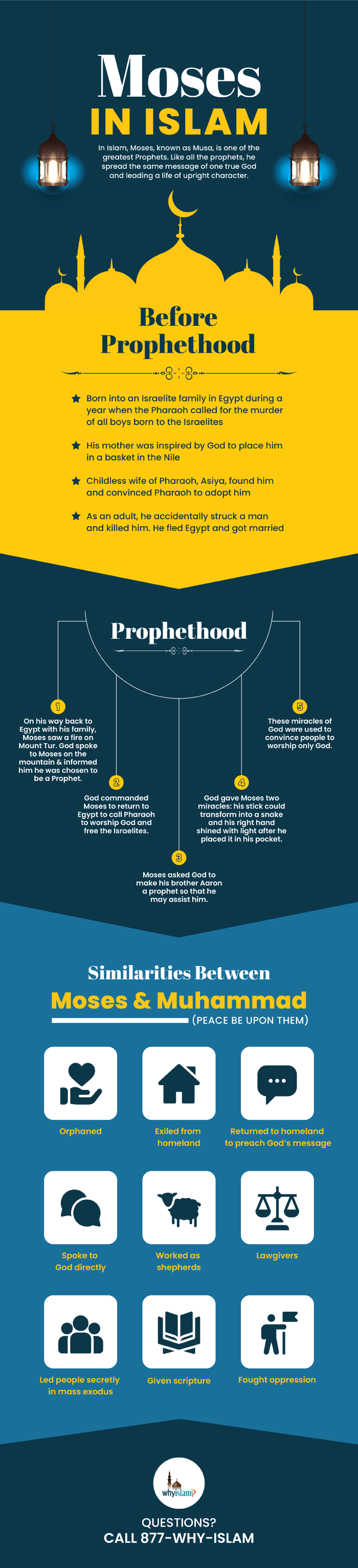 Prophet Moses Infographic