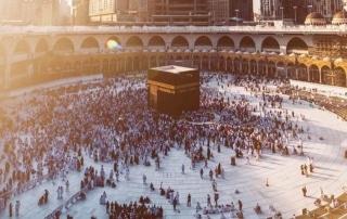 Aerial view of Makkah